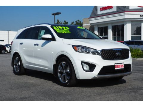 Pre Owned 2016 Kia Soo Sx V6 4dr Suv In Cerritos 86678a