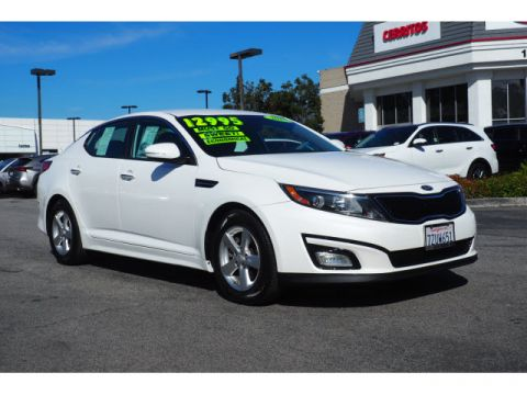 Pre-Owned 2015 Kia Optima LX