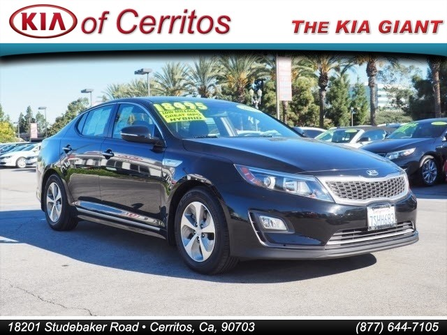 Pre Owned 2016 Kia Optima Hybrid Base
